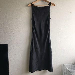 Black silk dress size small